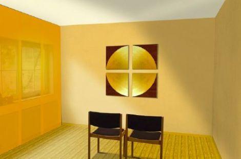 Meditationsraum (c) Idee/Entwurf: H. Sickinger, Illustration: S.